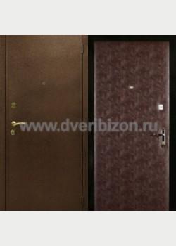 Порошковое напыление двери ДПН 01 с отделкой крокодил