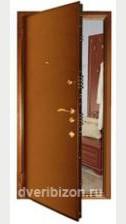 Бронированная стальная дверь БР3