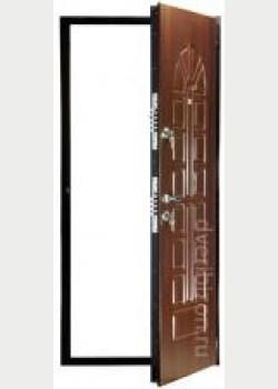 Бронированная стальная дверь БР4
