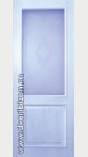 Межкомнатная дверь Классика ДО дуб белый обклад